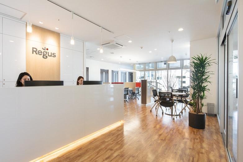 レンタルオフィス「リージャスつくばビジネスセンター」の受付
