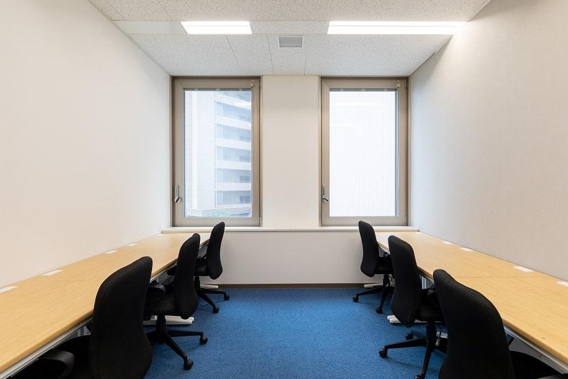レンタルオフィス「リージャス長野駅前」の個室