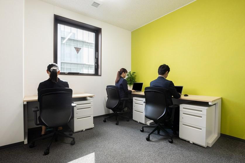 レンタルオフィス「リージャス 岡山アクロスキューブビジネスセンター」の個室