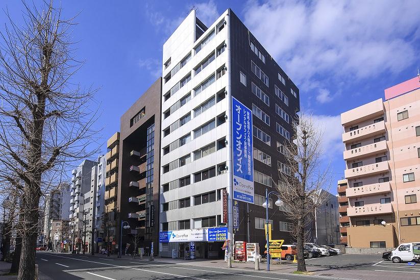 レンタルオフィス「オープンオフィス熊本銀座通り」の外観