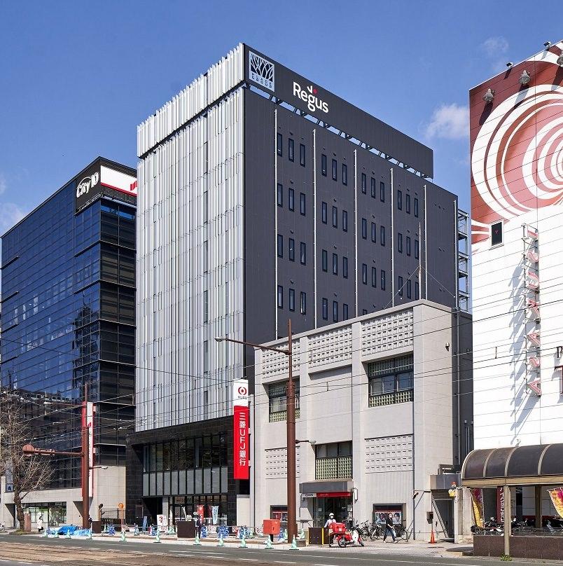 レンタルオフィス「リージャス熊本PLACE花畑ビジネスセンター」の外観