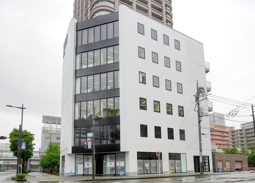 レンタルオフィス「リージャス高崎アクロスキューブビジネスセンター」の外観